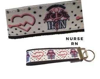 LPN Lanyard or Keychain - LPN Graduation Gift - Gift For A Nurse - Nurses Week