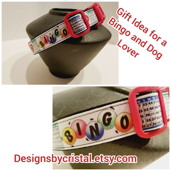 Bingo Dog Collar For Large And Small Dogs Bingo Lover Gift