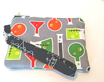 Coin/Wristlet Pouch