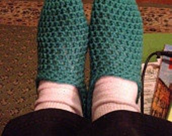 Crochet Slippers Pattern | Unisex | For Beginners | Slip-on | Multi Size Instructions