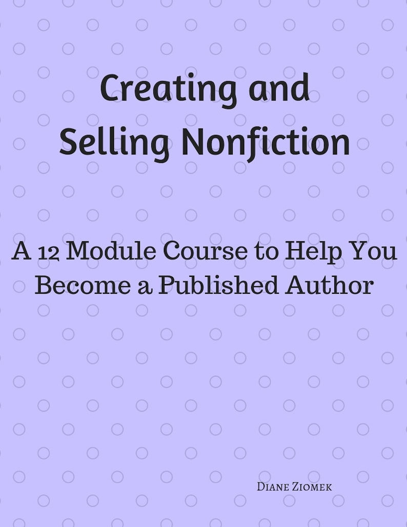 Writing Course Creating and Selling Nonfiction Workbook image 0