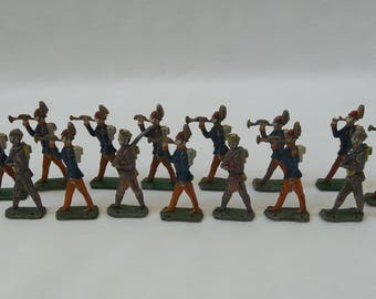 Lead toy soldiers | Etsy