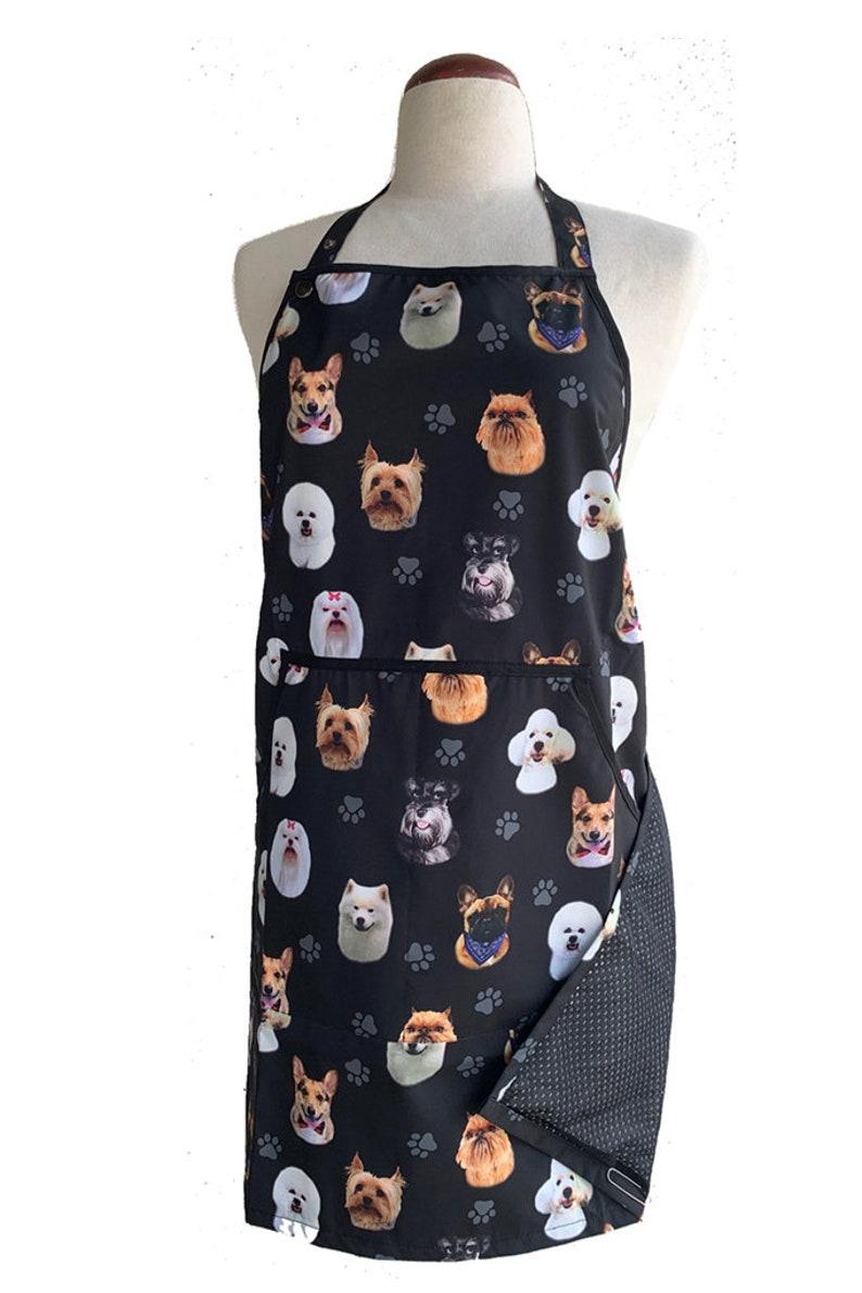 Ladybird Line 704 Pink Dog Design Waterproof Grooming Vest