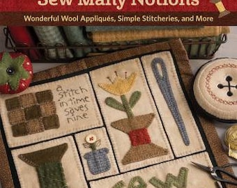 Sew Many Notions - Wool Applique Pattern Book