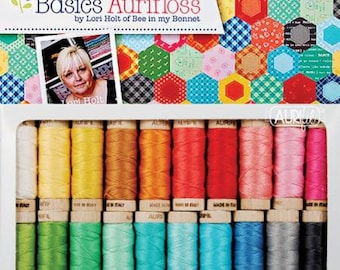 Bee Basics Collections by Aurifloss - Embroidery Thread - 20 Spools 18 yards each
