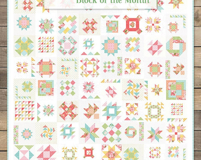 Summer Moon Block of the Month - Book