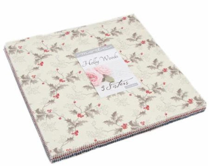 """Holly Woods by 3 Sisters for Moda Layer Cake 42 - 10"""" Squares"""