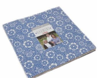 """Harmony by Sweetwater for Moda Layer Cake 42 - 10"""" Squares"""