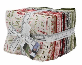 Overnight Delivery by Sweetwater  for Moda Fat Quarter Bundle FQ, JR, LC or F8