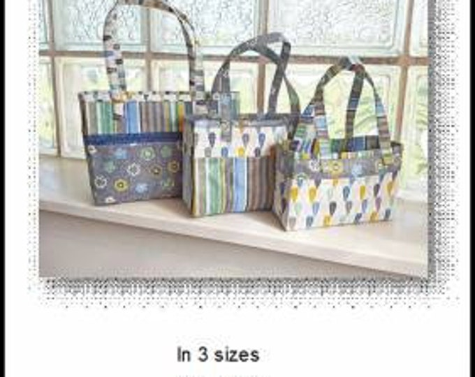 Tiny Totes by Sisters Common Thread - Pattern