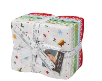 Good Tidings by Brenda Riddle of Acorn Quilts for Moda Fat Quarter Bundle 22 FQ