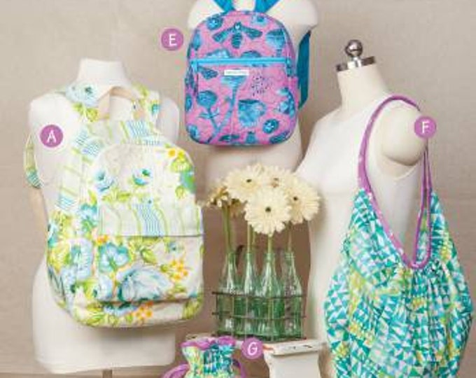 Backpacks & Bindles by Cindy Taylor Oates - Bag Pattern Book
