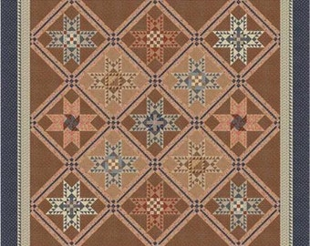 """Reflections Quilt Kit by Jo Morton for Moda and Border Creek Station 94"""" x 94"""" BOM"""