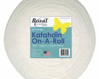 "Katahdin on A Roll - Batting Strips - Choose 2.25"" or 2.5"""