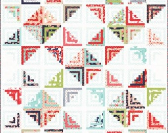 """FREE US SHIPPING  Sweet Escape Quilt Kit featuring Smitten by  Bonnie and Camille for Moda 80"""" x 80"""""""
