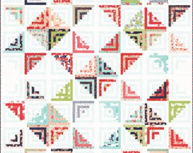 "FREE US SHIPPING  Sweet Escape Quilt Kit featuring Smitten by  Bonnie and Camille for Moda 80"" x 80"""