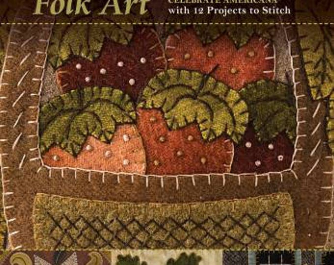 Season of Wool Applique Folk Art - Wool Applique Pattern Book