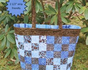Checker Tote Bag by Sweet Jane Quilting - Pattern