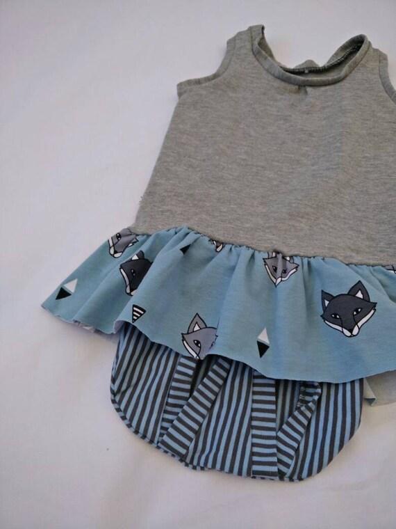 Ähnliche Artikel wie Baby Mädchen Fox Kleid, neue geboren ...