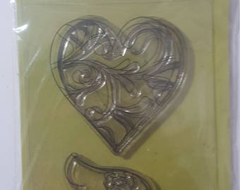 """Ditto clear stamp set """"Double Vision"""""""
