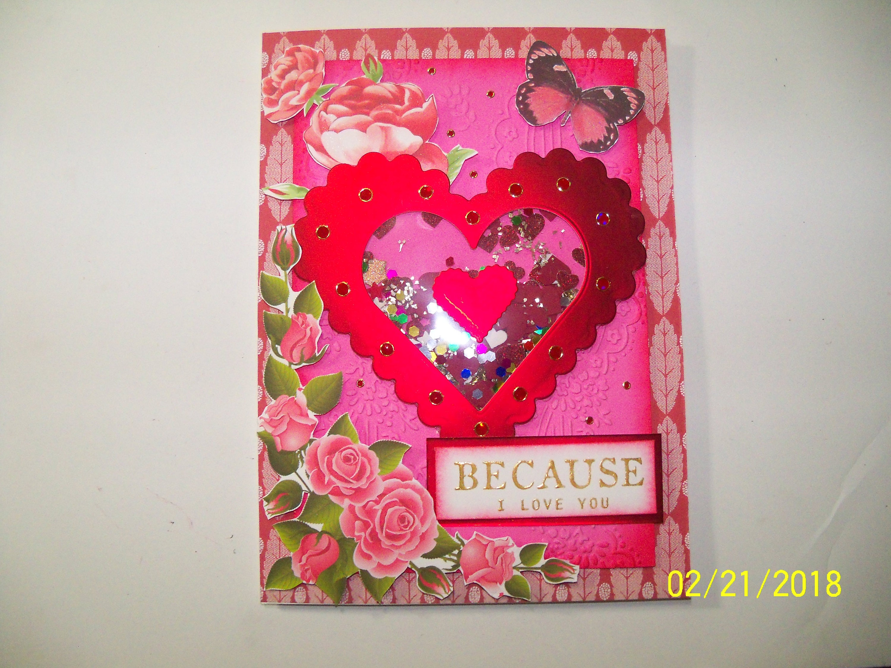 Valentines Day Greeting Card Etsy