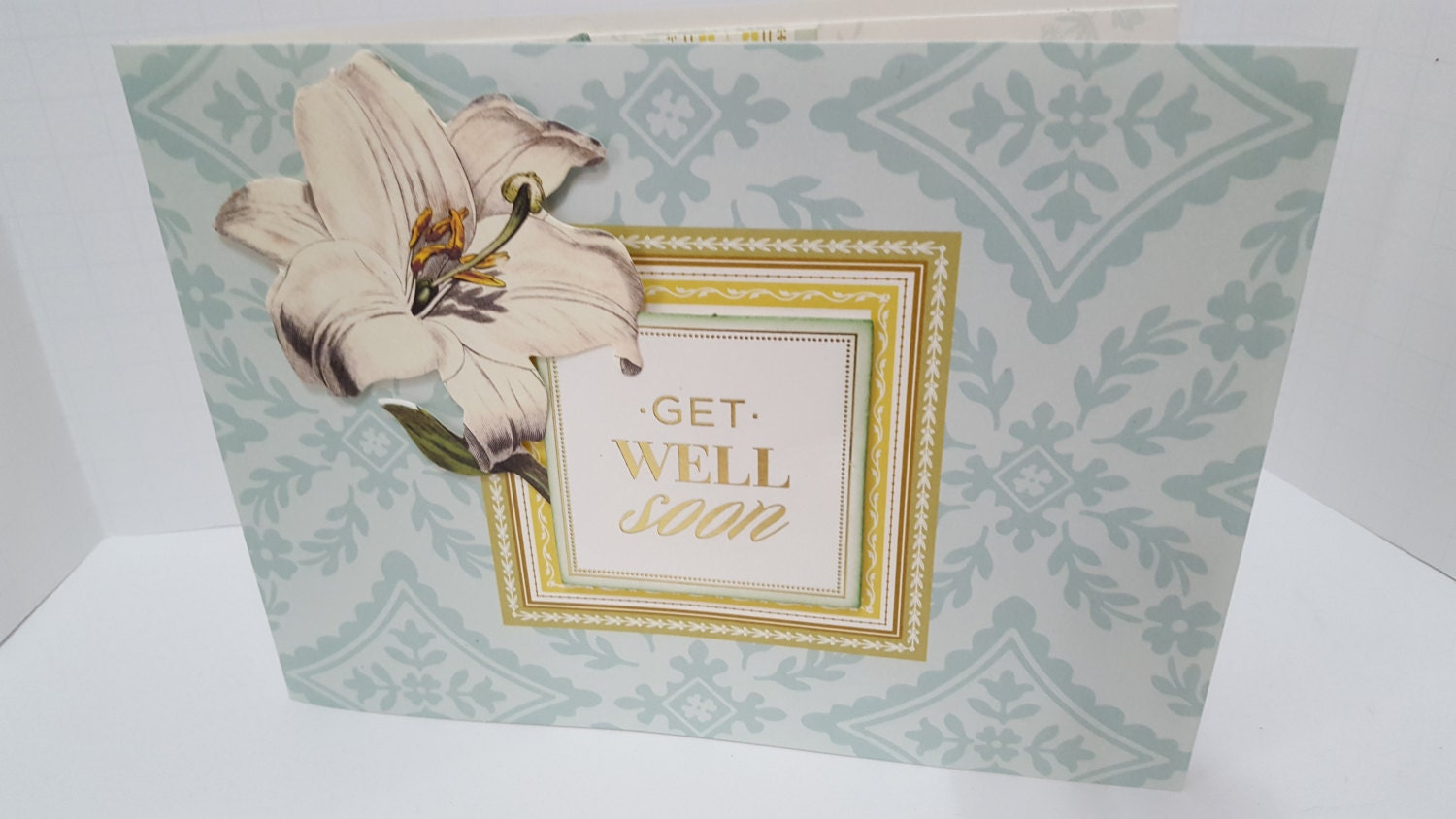 Get Well Greeting Card Etsy