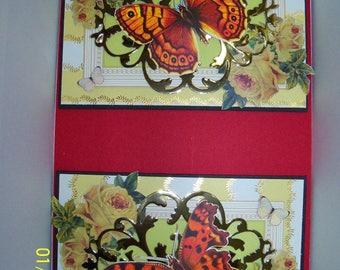 Set of two any occasion greeting cards