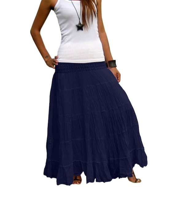 Sirra Womens Tie Dyed Maxi Long Skirt NS000-2