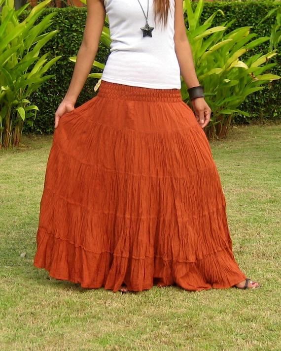 d11b5d4f4c0d Plus Size Extra Long Maxi Skirt Long Skirts For Women | Etsy