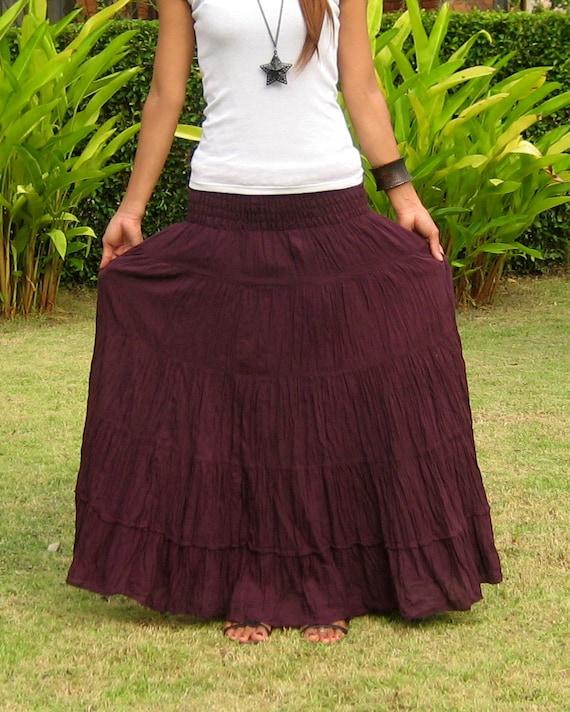 extra lange maxi dress
