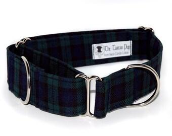 Tartan 1.5inch Martingale Dog Collar