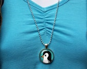 Cute Penguin  Necklace, P...