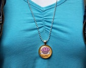 Blueberry Muffin Pendant,...