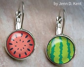 Sweet Watermelon Earrings...