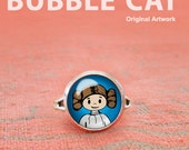 Cute Princess Leia Ring, ...