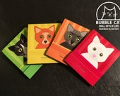 SET of 4 Matchbook sized ...