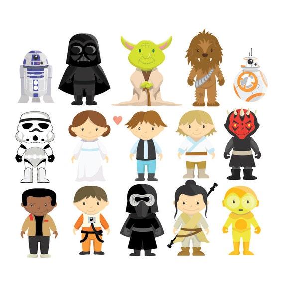 star wars im u00e1genes predise u00f1adas y vector set descarga etsy yoga victoria tx yoga victorville