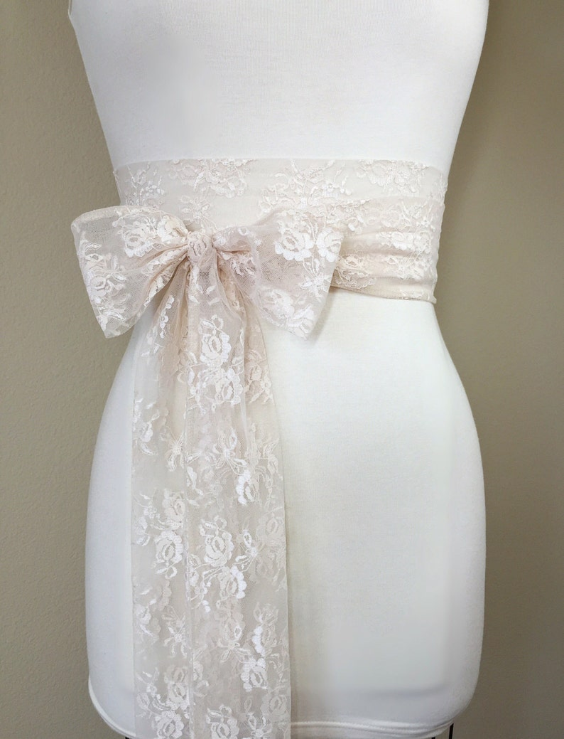 Lace Sashes for Dresses