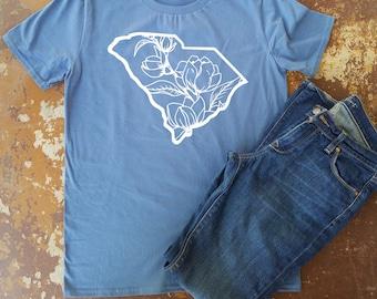 magnolia south carolina southern tshirt