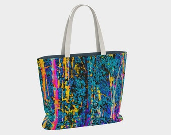 Urban Tote 01797:  Fine Art Photography, Trees, Nature