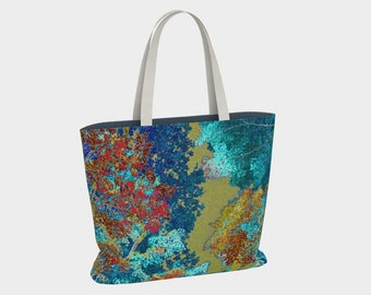 Urban Tote 01723:  Fine Art Photography, Trees, Nature