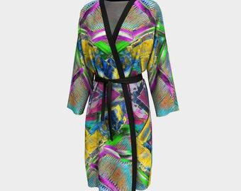 09404 Peignoir, Robe, Long Robe