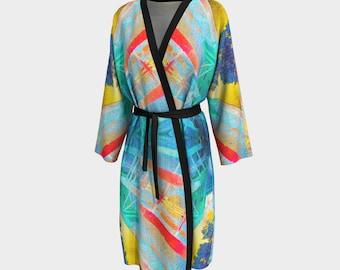 08820 Peignoir, Robe, Long Robe