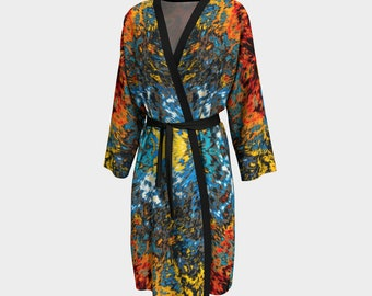 09713 Peignoir, Robe, Long Robe