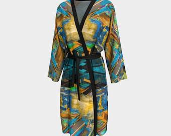 09405 Peignoir, Robe, Long Robe