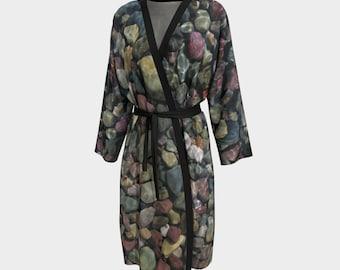 Stones Peignoir, Robe, Long Robe