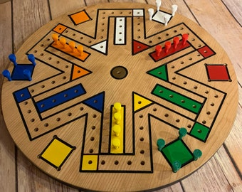 Aggravation Game Board / Aggravation Game