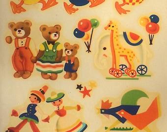 Children's Animals & Toy Theme Meyercord Decals