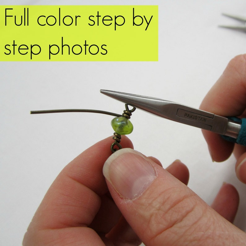 Basic Wire Wrapping Instructions Step-by-Step Pattern How to image 0