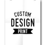 custom design print // custom quote design // print made to order // personalised design // personalised print // quote print design